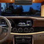 2020 Mercedes-Benz E-class dashboard