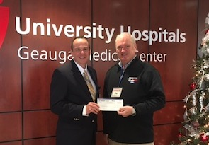 Geauga Hospital donation 2017
