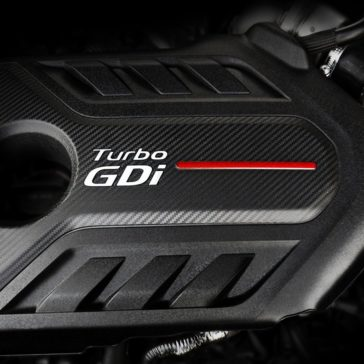 Turbo GDi engine in 2018 Optima