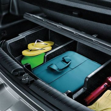 2019 Kia Soul rear storage
