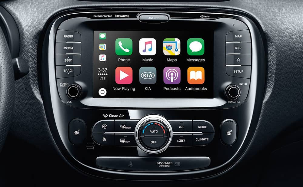 2019 Kia Soul infotainment screen