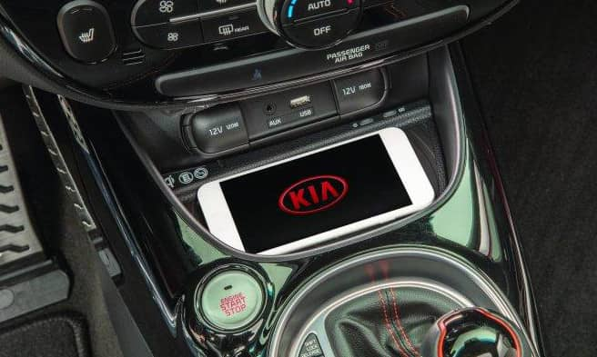 2019 Kia Soul wireless charger