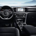 interior 2019 Kia Sportage