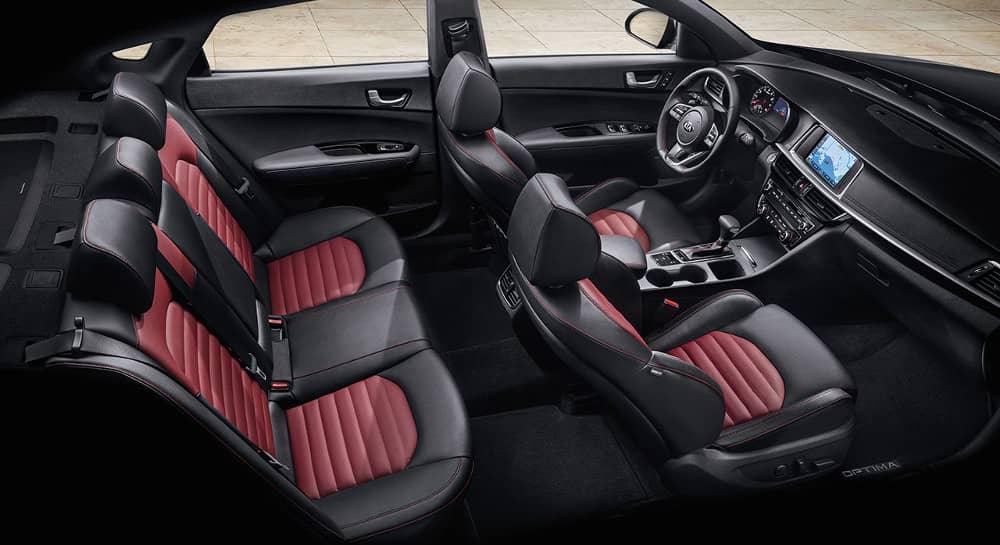 interior cabin of 2019 Kia Optima