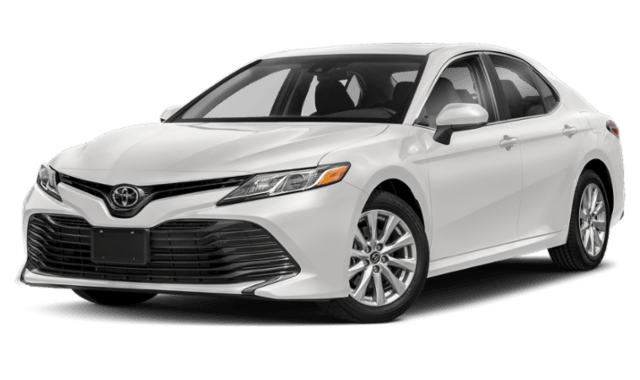 2019 Toyota Camry in White 2